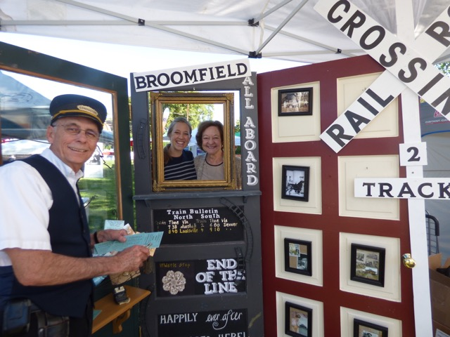 Charlotte at Broomfield Days